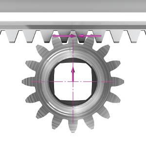 Leantechnik Lifgo tandheugelsystemen met instelbare tandflankspeling